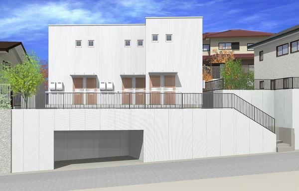 仙台市太白区向山 新築テラスハウス